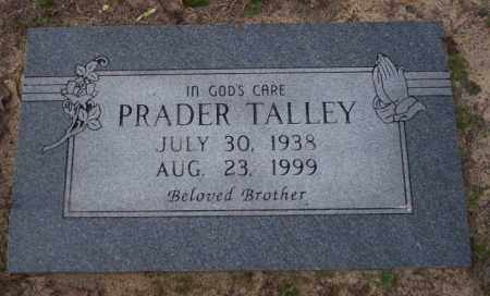 TALLEY, PRADER - Columbia County, Arkansas | PRADER TALLEY - Arkansas Gravestone Photos