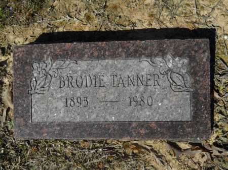 TANNER, BRODIE - Columbia County, Arkansas | BRODIE TANNER - Arkansas Gravestone Photos