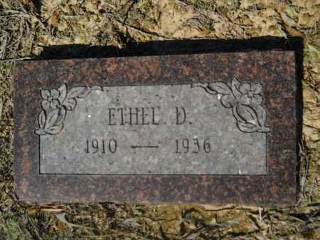 TANNER, ETHEL D - Columbia County, Arkansas | ETHEL D TANNER - Arkansas Gravestone Photos