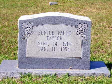 FAULK TAYLOR, EUNICE - Columbia County, Arkansas | EUNICE FAULK TAYLOR - Arkansas Gravestone Photos