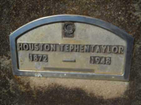 TAYLOR, HOUSTON TEPHEN - Columbia County, Arkansas | HOUSTON TEPHEN TAYLOR - Arkansas Gravestone Photos