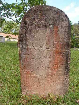 TAYLOR, HASLEY - Columbia County, Arkansas   HASLEY TAYLOR - Arkansas Gravestone Photos