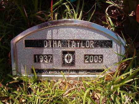 TAYLOR, OTHA - Columbia County, Arkansas | OTHA TAYLOR - Arkansas Gravestone Photos