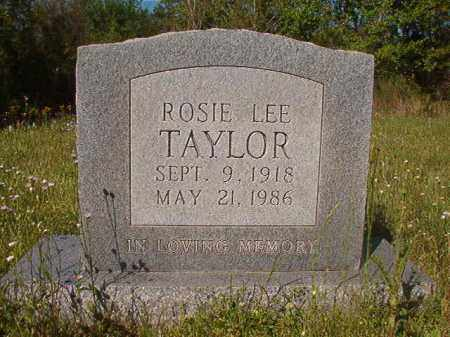 TAYLOR, ROSIE LEE - Columbia County, Arkansas | ROSIE LEE TAYLOR - Arkansas Gravestone Photos