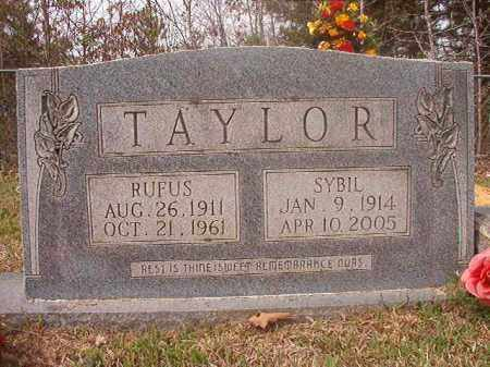 TAYLOR, SYBIL - Columbia County, Arkansas | SYBIL TAYLOR - Arkansas Gravestone Photos