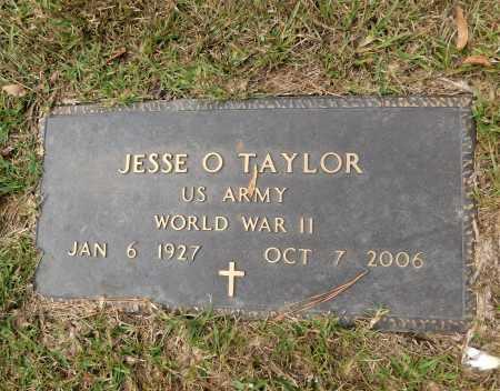 TAYLOR (VETERAN WWII), JESSE O - Columbia County, Arkansas | JESSE O TAYLOR (VETERAN WWII) - Arkansas Gravestone Photos