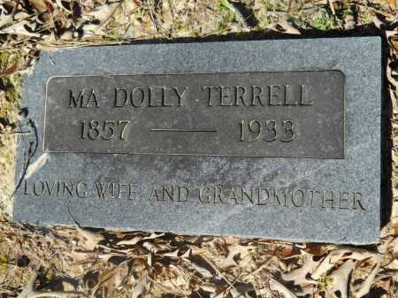 TERRELL, MA DOLLY - Columbia County, Arkansas | MA DOLLY TERRELL - Arkansas Gravestone Photos