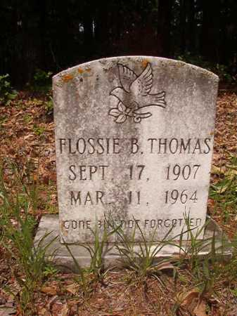 THOMAS, FLOSSIE B - Columbia County, Arkansas | FLOSSIE B THOMAS - Arkansas Gravestone Photos