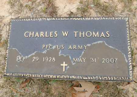 THOMAS (VETERAN), CHARLES W - Columbia County, Arkansas | CHARLES W THOMAS (VETERAN) - Arkansas Gravestone Photos