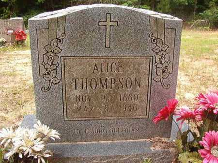 THOMPSON, ALICE - Columbia County, Arkansas | ALICE THOMPSON - Arkansas Gravestone Photos