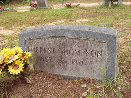 THOMPSON, FORREST - Columbia County, Arkansas | FORREST THOMPSON - Arkansas Gravestone Photos