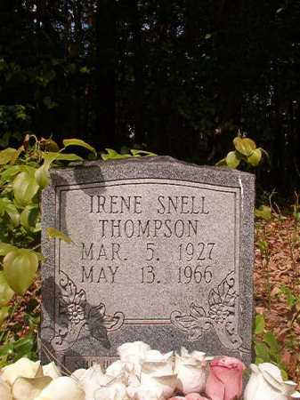 SNELL THOMPSON, IRENE - Columbia County, Arkansas | IRENE SNELL THOMPSON - Arkansas Gravestone Photos