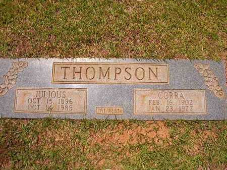 THOMPSON, CORRA - Columbia County, Arkansas | CORRA THOMPSON - Arkansas Gravestone Photos