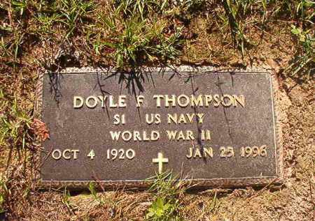 THOMPSON (VETERAN WWII), DOYLE F - Columbia County, Arkansas | DOYLE F THOMPSON (VETERAN WWII) - Arkansas Gravestone Photos