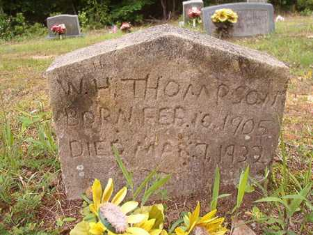 THOMPSON, W H - Columbia County, Arkansas   W H THOMPSON - Arkansas Gravestone Photos