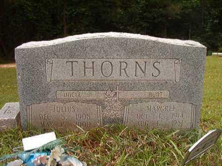 THORNS, MARGREE - Columbia County, Arkansas | MARGREE THORNS - Arkansas Gravestone Photos