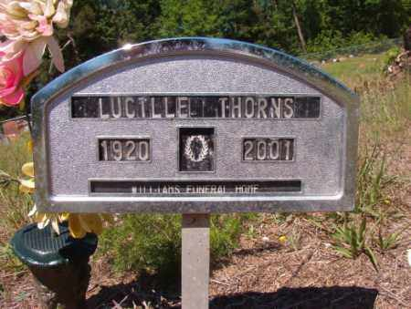 THORNS, LUCILLE - Columbia County, Arkansas | LUCILLE THORNS - Arkansas Gravestone Photos