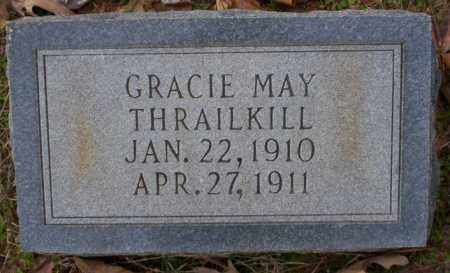 THRAILKILL, GRACIE MAY - Columbia County, Arkansas | GRACIE MAY THRAILKILL - Arkansas Gravestone Photos