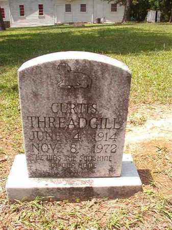 THREADGILL, CURTIS - Columbia County, Arkansas | CURTIS THREADGILL - Arkansas Gravestone Photos