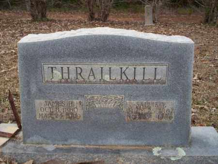 THRAILKILL, JAMES H - Columbia County, Arkansas | JAMES H THRAILKILL - Arkansas Gravestone Photos