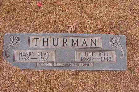 THURMAN, LUDIE BELL - Columbia County, Arkansas | LUDIE BELL THURMAN - Arkansas Gravestone Photos