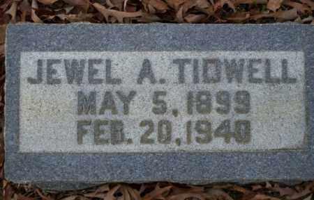 TIDWELL, JEWEL A - Columbia County, Arkansas | JEWEL A TIDWELL - Arkansas Gravestone Photos