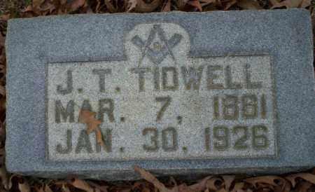 TIDWELL, J.T. - Columbia County, Arkansas | J.T. TIDWELL - Arkansas Gravestone Photos