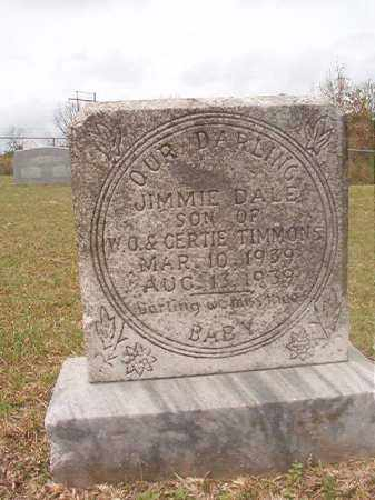 TIMMONS, JIMMIE DALE - Columbia County, Arkansas | JIMMIE DALE TIMMONS - Arkansas Gravestone Photos