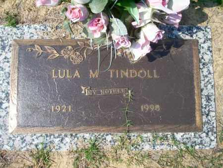 TINDOLL, LULA M - Columbia County, Arkansas | LULA M TINDOLL - Arkansas Gravestone Photos