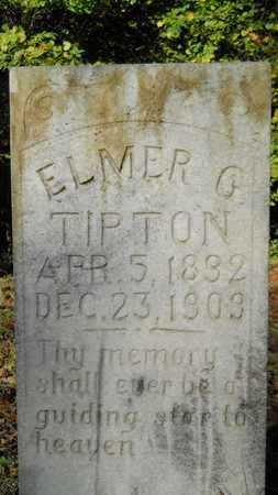 TIPTON, ELMER G - Columbia County, Arkansas | ELMER G TIPTON - Arkansas Gravestone Photos