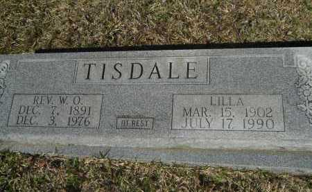 TISDALE, REV, W O - Columbia County, Arkansas | W O TISDALE, REV - Arkansas Gravestone Photos