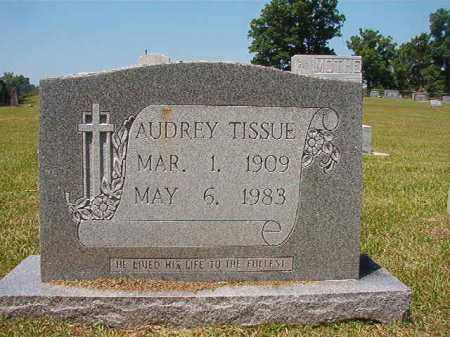TISSUE, AUDREY - Columbia County, Arkansas | AUDREY TISSUE - Arkansas Gravestone Photos