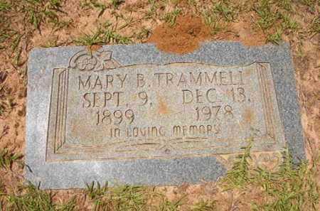 TRAMMELL, MARY B - Columbia County, Arkansas | MARY B TRAMMELL - Arkansas Gravestone Photos