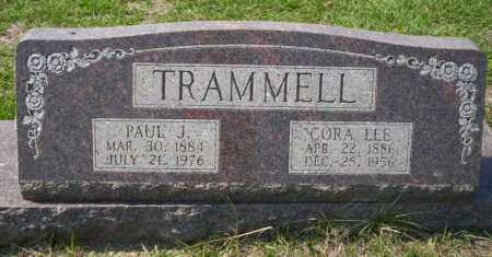 LEE TRAMMELL, CORA - Columbia County, Arkansas | CORA LEE TRAMMELL - Arkansas Gravestone Photos