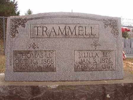 TRAMMELL, LILLA M - Columbia County, Arkansas | LILLA M TRAMMELL - Arkansas Gravestone Photos