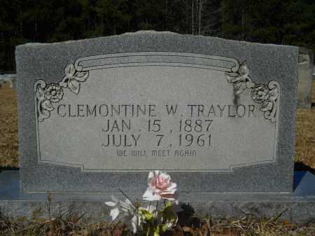WARE TRAYLOR, CLEMONTINE - Columbia County, Arkansas | CLEMONTINE WARE TRAYLOR - Arkansas Gravestone Photos