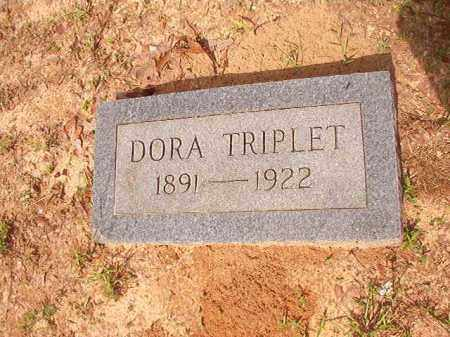 TRIPLET, DORA - Columbia County, Arkansas | DORA TRIPLET - Arkansas Gravestone Photos