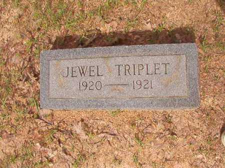 TRIPLET, JEWEL - Columbia County, Arkansas | JEWEL TRIPLET - Arkansas Gravestone Photos