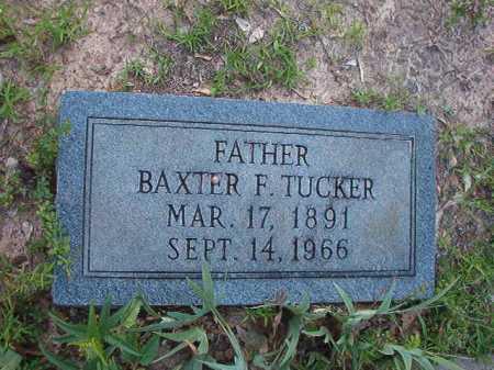 TUCKER, BAXTER F - Columbia County, Arkansas | BAXTER F TUCKER - Arkansas Gravestone Photos