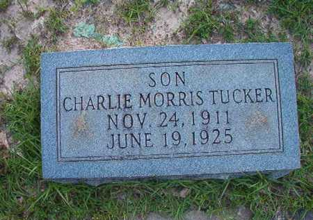 TUCKER, CHARLIE MORRIS - Columbia County, Arkansas | CHARLIE MORRIS TUCKER - Arkansas Gravestone Photos