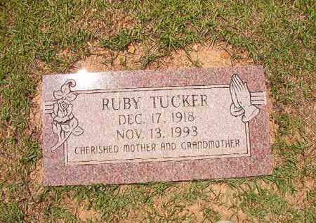 TUCKER, RUBY - Columbia County, Arkansas | RUBY TUCKER - Arkansas Gravestone Photos