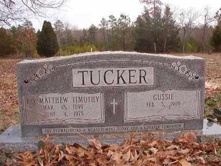 TUCKER, REV, MATTHEW TIMOTHY - Columbia County, Arkansas | MATTHEW TIMOTHY TUCKER, REV - Arkansas Gravestone Photos