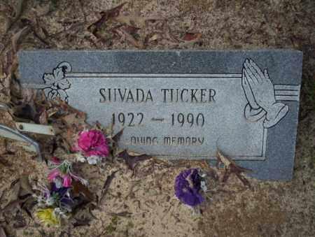 TUCKER, SUVADA - Columbia County, Arkansas | SUVADA TUCKER - Arkansas Gravestone Photos