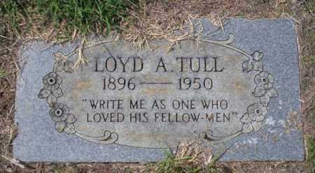 TULL, LOYD A - Columbia County, Arkansas | LOYD A TULL - Arkansas Gravestone Photos