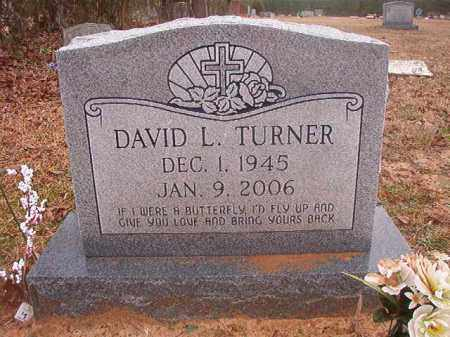 TURNER, DAVID L - Columbia County, Arkansas | DAVID L TURNER - Arkansas Gravestone Photos