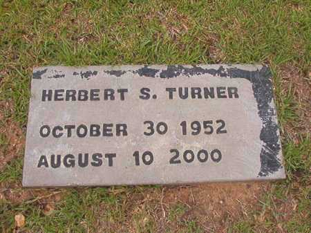TURNER, HERBERT S - Columbia County, Arkansas | HERBERT S TURNER - Arkansas Gravestone Photos