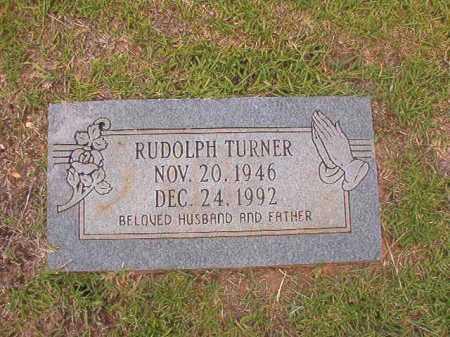 TURNER, RUDOLPH - Columbia County, Arkansas | RUDOLPH TURNER - Arkansas Gravestone Photos