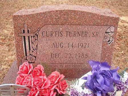 TURNER, SR, CURTIS - Columbia County, Arkansas | CURTIS TURNER, SR - Arkansas Gravestone Photos