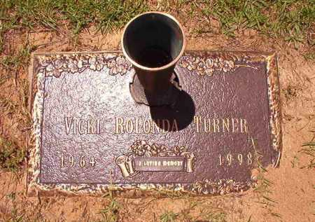TURNER, VICKI ROLANDA - Columbia County, Arkansas | VICKI ROLANDA TURNER - Arkansas Gravestone Photos