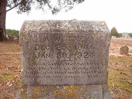 TYE, A W - Columbia County, Arkansas | A W TYE - Arkansas Gravestone Photos